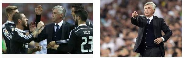 Carlo Ancelotti mantan pelatih real madrid