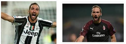 Gonzalo Higuain pemain bola terkaya di Liga Italia