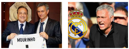 Jose Mourinho mantan pelatih real madrid