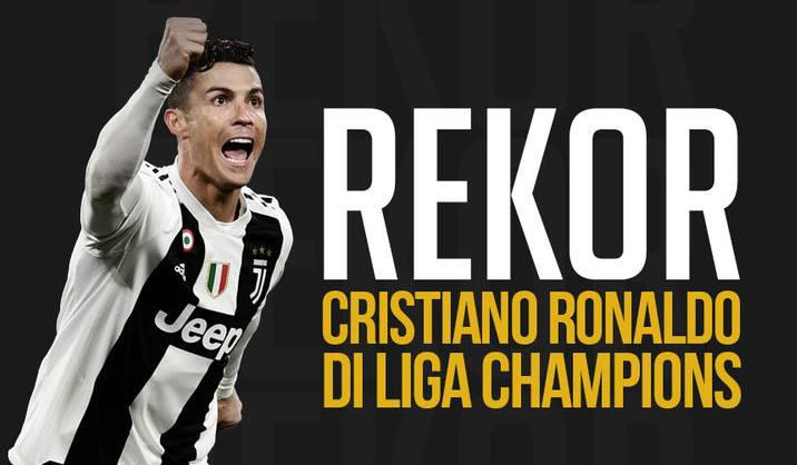 Penyerang mematikan Cristiano Ronaldo di Liga Champions