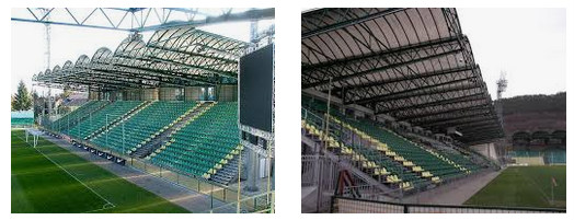 stadion sepakbola terkecil Pod Dubnom