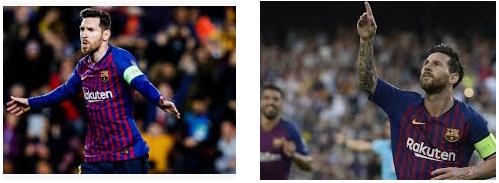striker mematikan Lionel Messi di Liga Champions