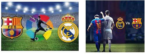 El Clasico Ronaldo dan Messi