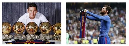 Lionel Messi menjadi pemain bola paling sukses di dunia